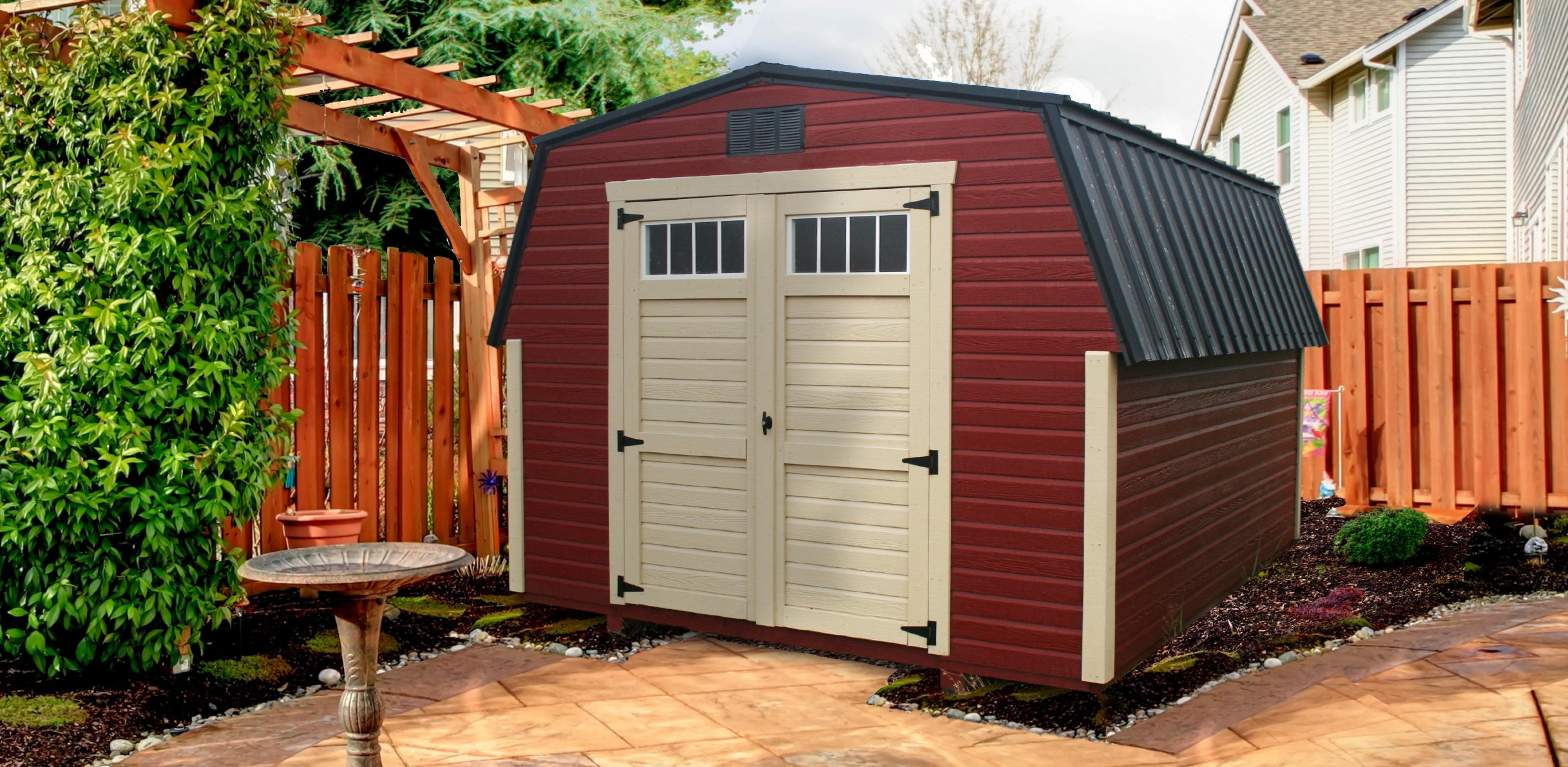 Storage Shed Foundation Options Which Is Best For You Country Cabins